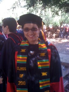Stanford University Graduation, June 2010.