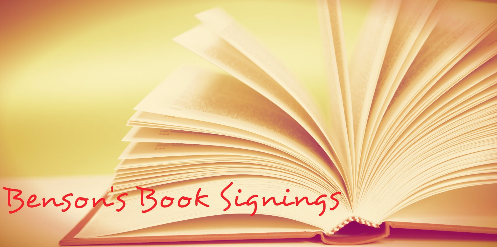 Book Signings, Lectures and More