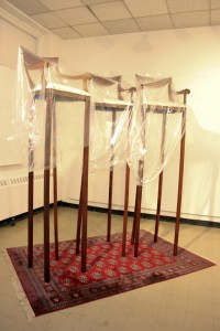 The High Chairs Year: 2013. Medium: Installation. Size: Varied Dimensions.