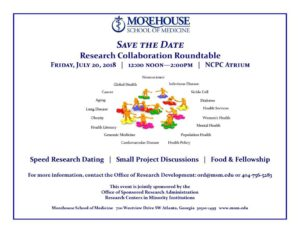 Morehouse School of Medicine to Host Roundtable July 20